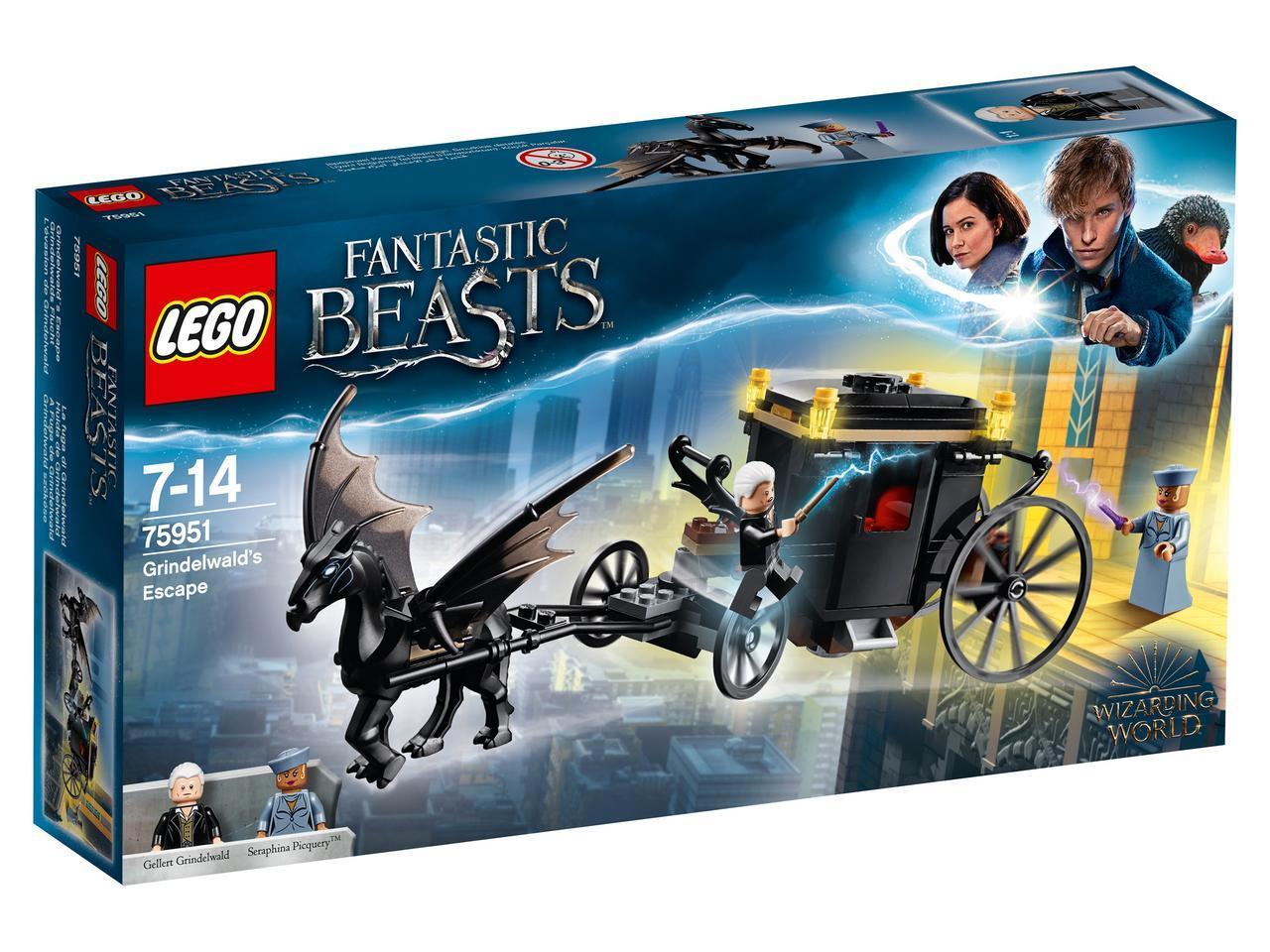 75951 Lego Harry Potter and Fantastic beasts Побег Грин-де-Вальда, Лего Гарри Поттер