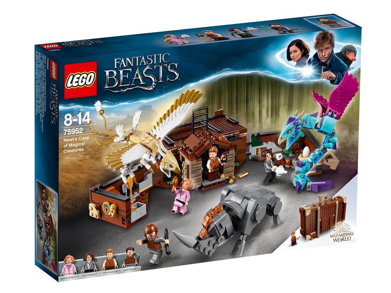 75952 Lego Harry Potter and Fantastic beasts Чемодан Ньюта с волшебными существами