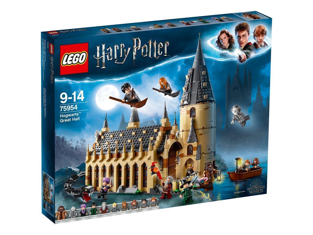75954 Lego Harry Potter Большой зал Хогвартса, Лего Гарри Поттер