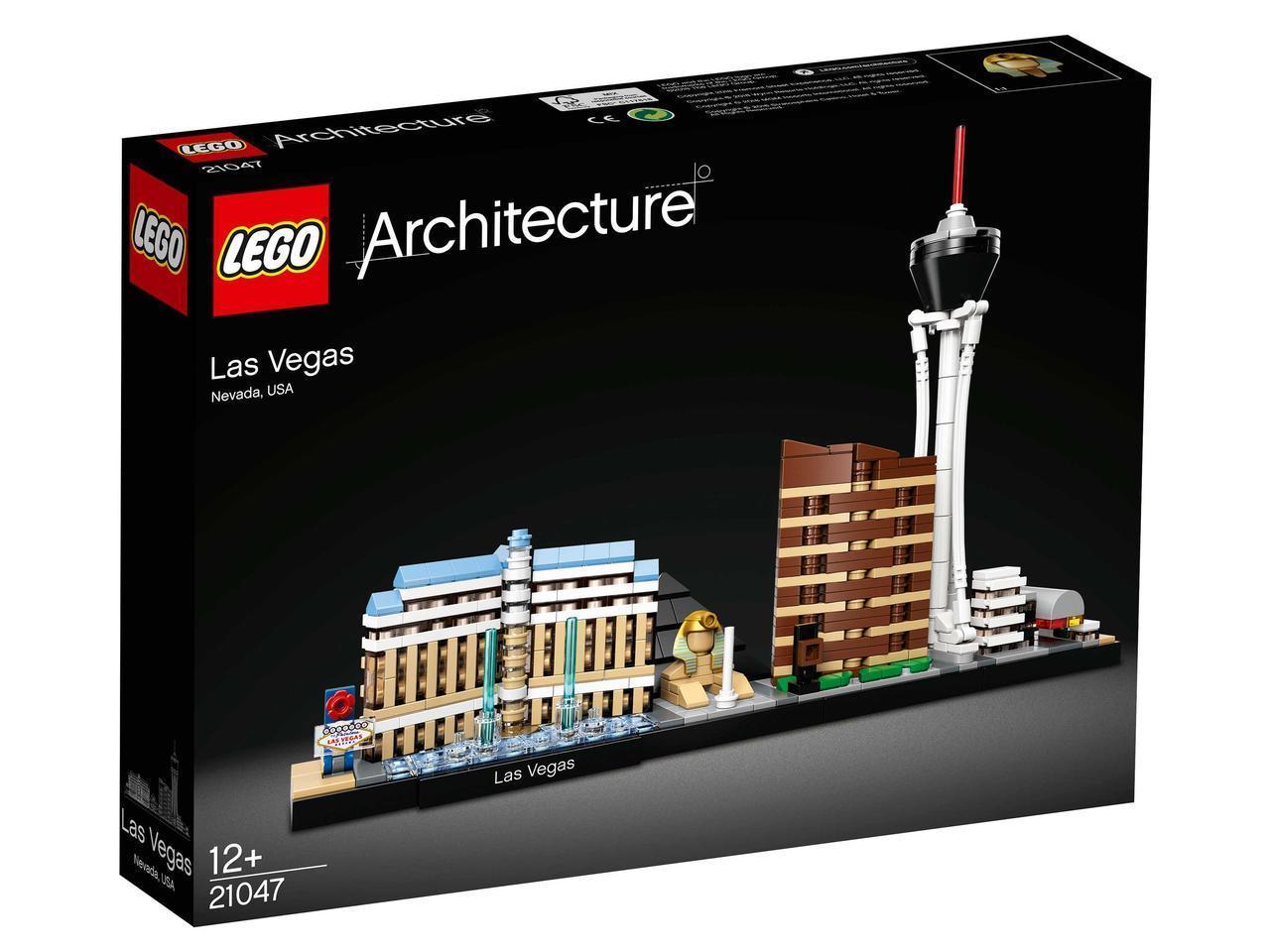 21047 Lego Architecture Лас-Вегас, Лего Архитектура