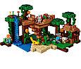 21125 Lego Minecraft Домик на дереве в джунглях, Лего Майнкрафт, фото 4