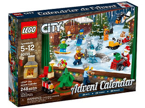 60155 Lego Новогодний календарь City с подарками