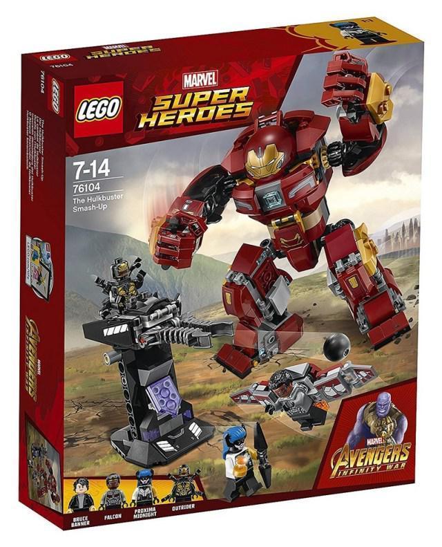 76104 Lego Super Heroes Бой Халкбастера, Лего Супергерои Marvel