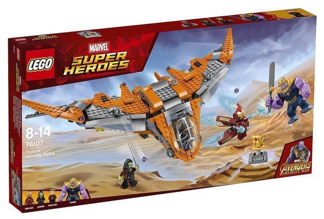 76107 Lego Super Heroes Танос: Последняя битва, Лего Супергерои Marvel