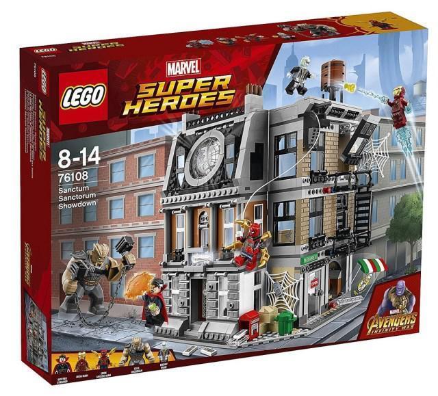 76108 Lego Super Heroes Решающий бой в Санктум Санкторум, Лего Супергерои Marvel