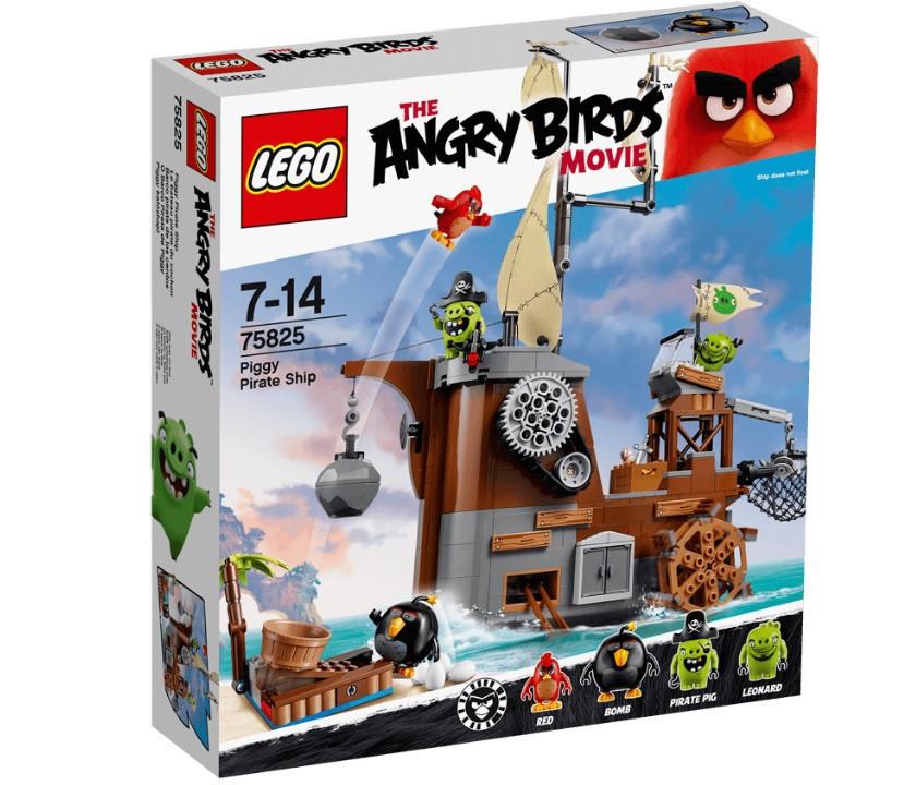 75825 Lego Angry Birds Пиратский корабль свинок