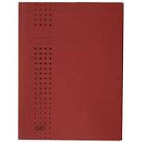 Папка картонная А4, 320гр, с 3 клапанами, красная Hamelin