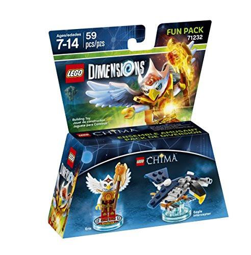 71232 Lego Dimensions CHIMA Эрис (Fun Pack)