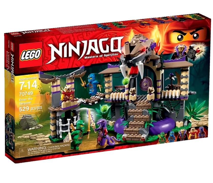 70749 Lego Ninjago Храм клана Анакондрай, Лего Ниндзяго