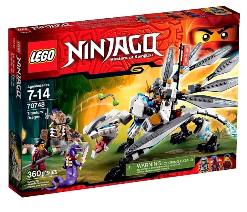 70748 Lego Ninjago Титановый Дракон, Лего Ниндзяго