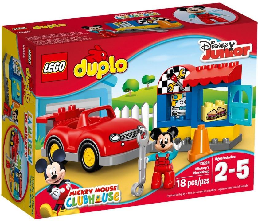 10829 Lego Duplo Мастерская Микки, Лего Дупло