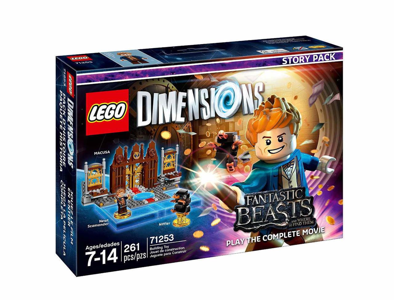 71253 Lego Dimensions Фантастические твари и где они обитают: Ньют Саламандер (Story Pack)
