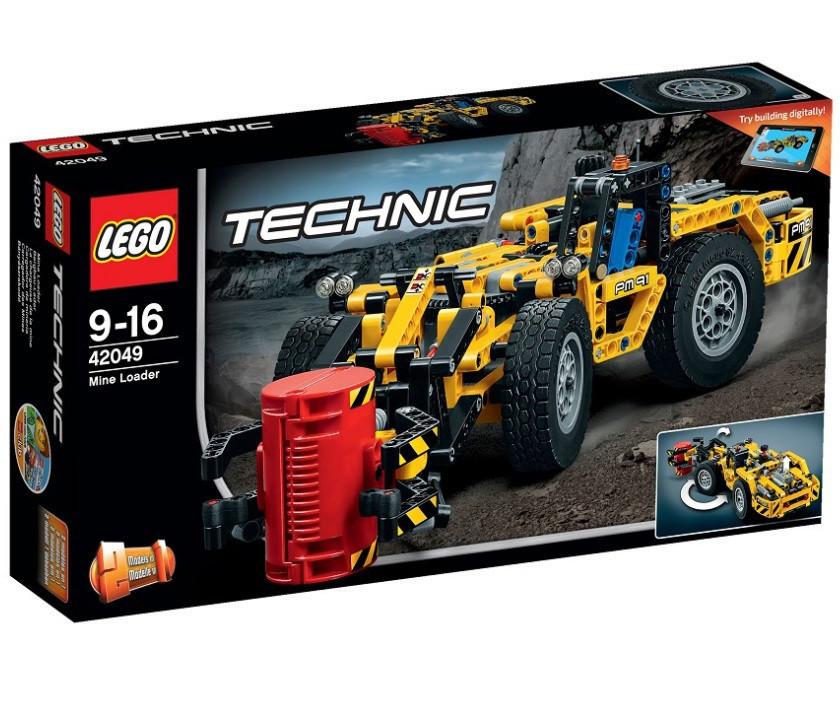 42049 Lego Technic Карьерный погрузчик, Лего Техник
