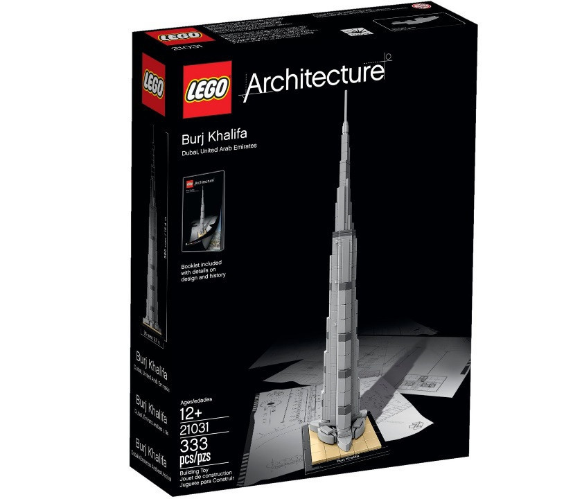 21031 Lego Architecture Бурдж-Халифа, Лего Архитектура