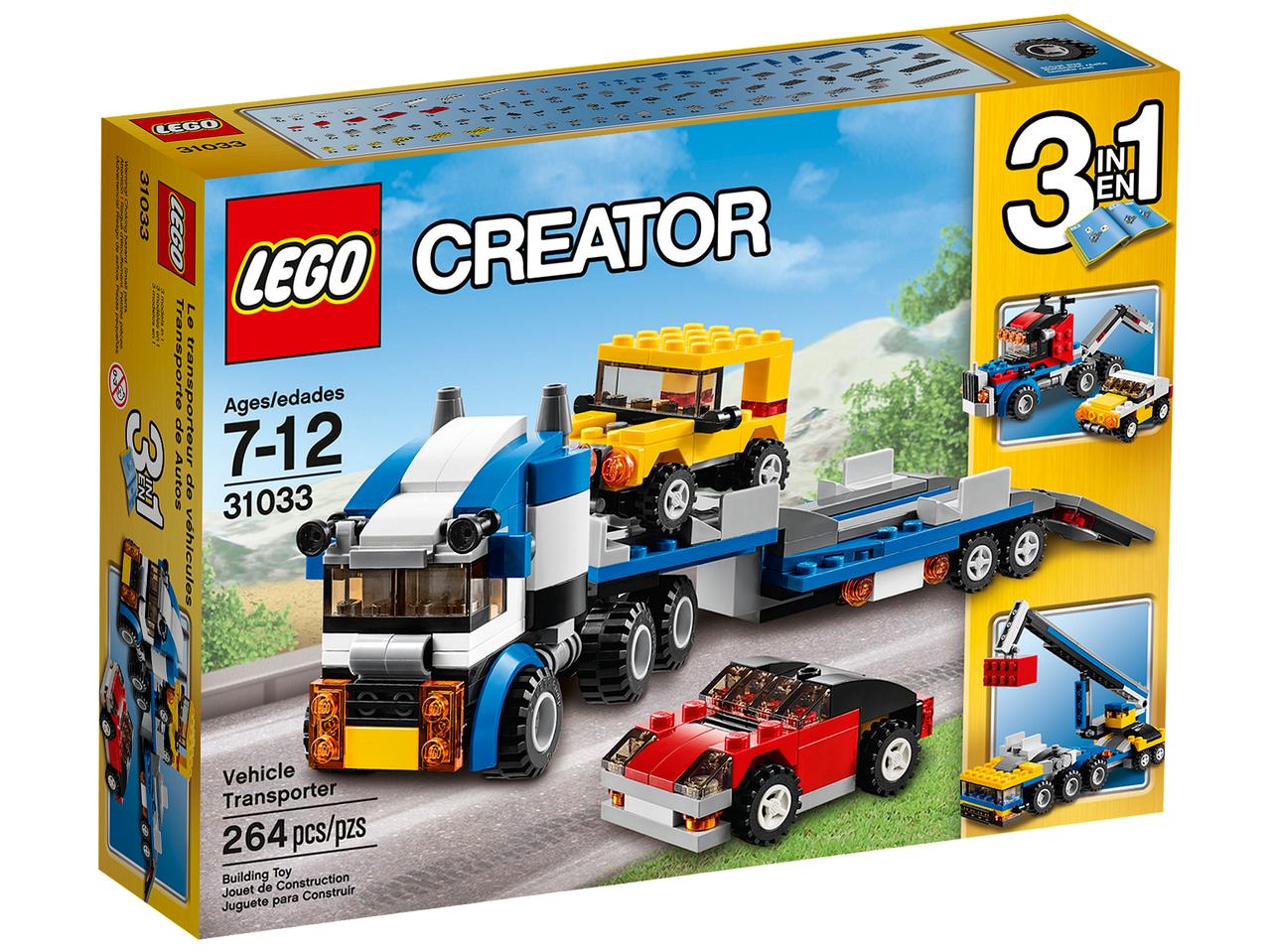 31033 Lego Creator Автотранспортер, Лего Креатор