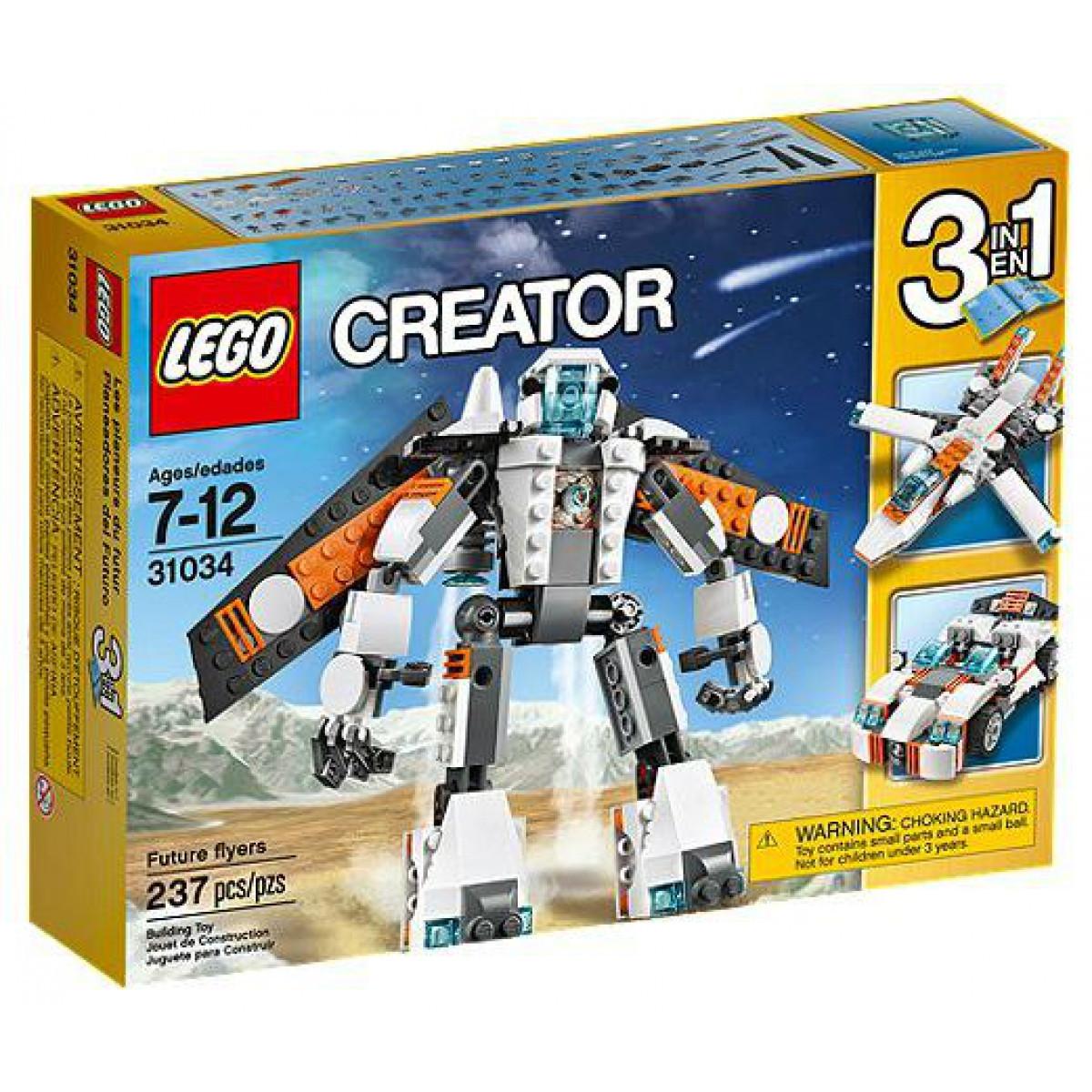 31034 Lego Creator Летающий робот, Лего Креатор