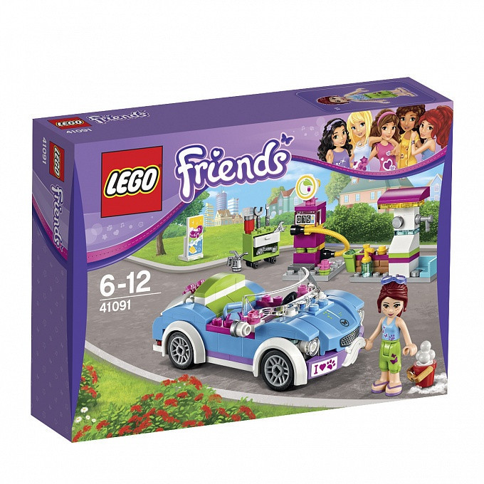 41091 Lego Friends Кабриолет Мии, Лего Подружки