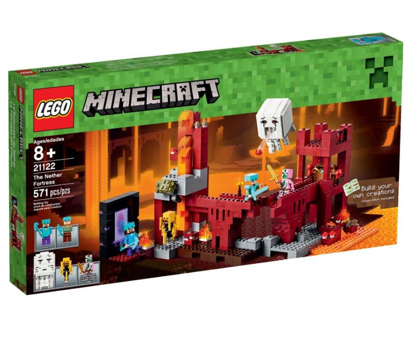 21122 Lego Minecraft Крепость Нижнего мира, Лего Майнкрафт