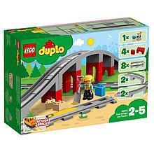 10872 Lego Duplo Железнодорожный мост и рельсы, Лего Дупло