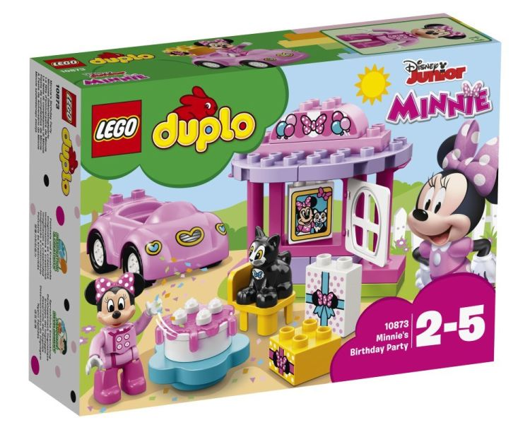 10873 Lego Duplo День рождения Минни, Лего Дупло