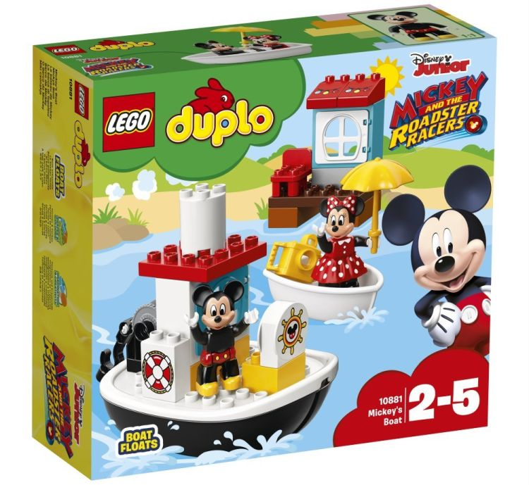10881 Lego Duplo Катер Микки, Лего Дупло