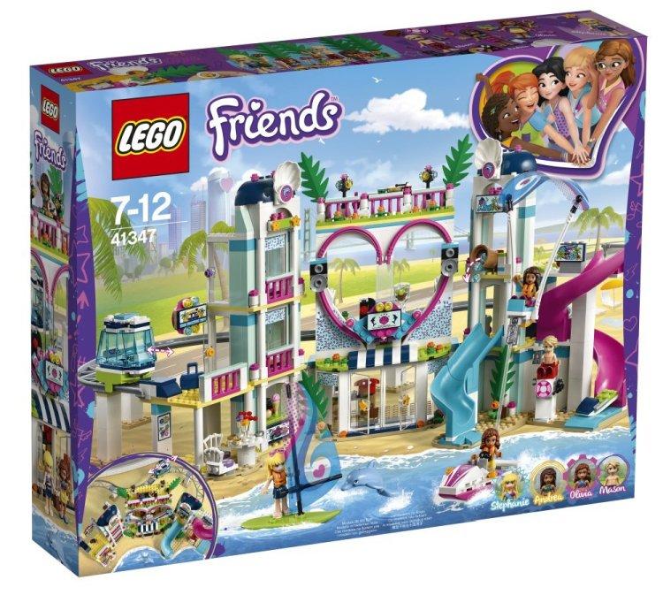 41347 Lego Friends Курорт Хартлейк-Сити, Лего Подружки