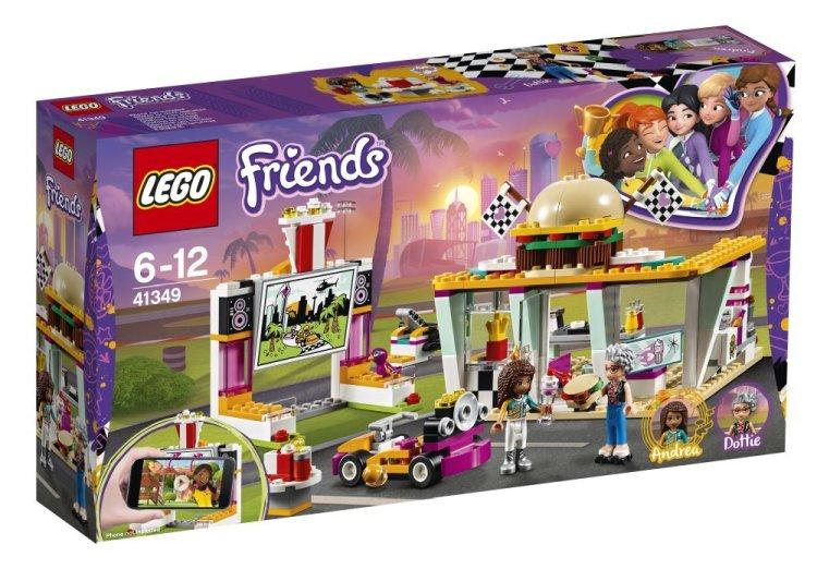 41349 Lego Friends Передвижной ресторан, Лего Подружки