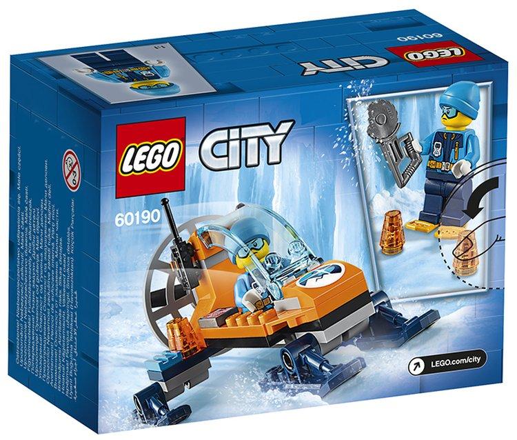 60190 Lego City Арктическая экспедиция Аэросани, Лего Город Сити