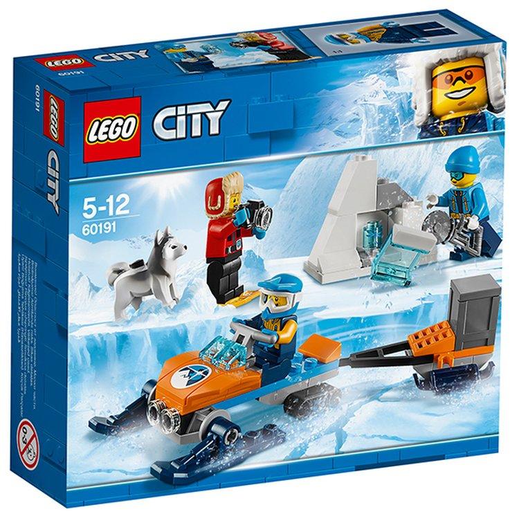 60191 Lego City Арктическая экспедиция Полярные исследователи, Лего Город Сити