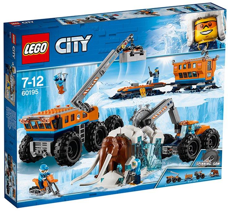 60195 Lego City Арктическая экспедиция Передвижная арктическая база, Лего Город Сити