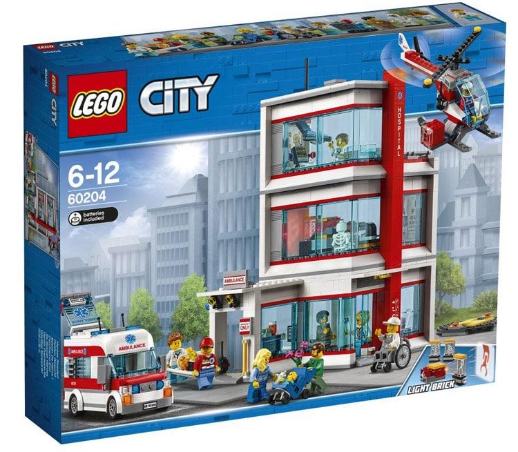 60204 Lego City Городская больница, Лего Город Сити