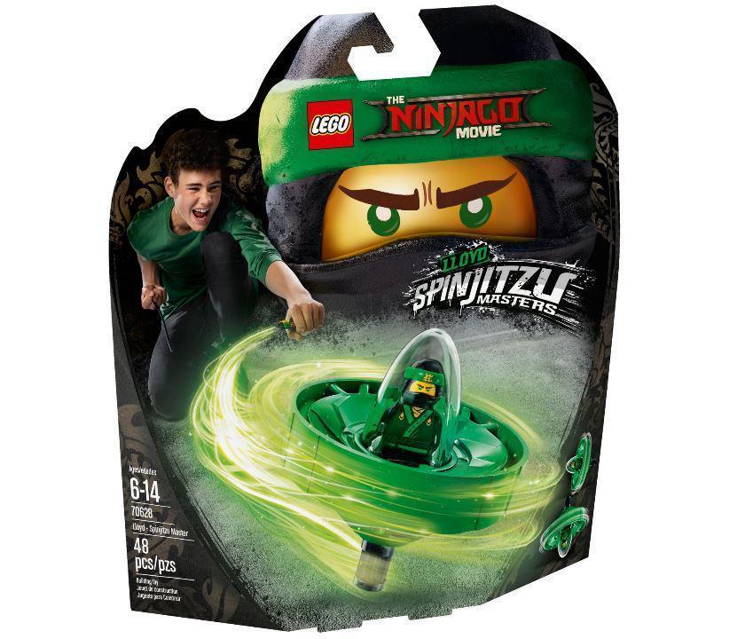 70628 Lego Ninjago Ллойд — мастер Кружитцу, Лего Ниндзяго