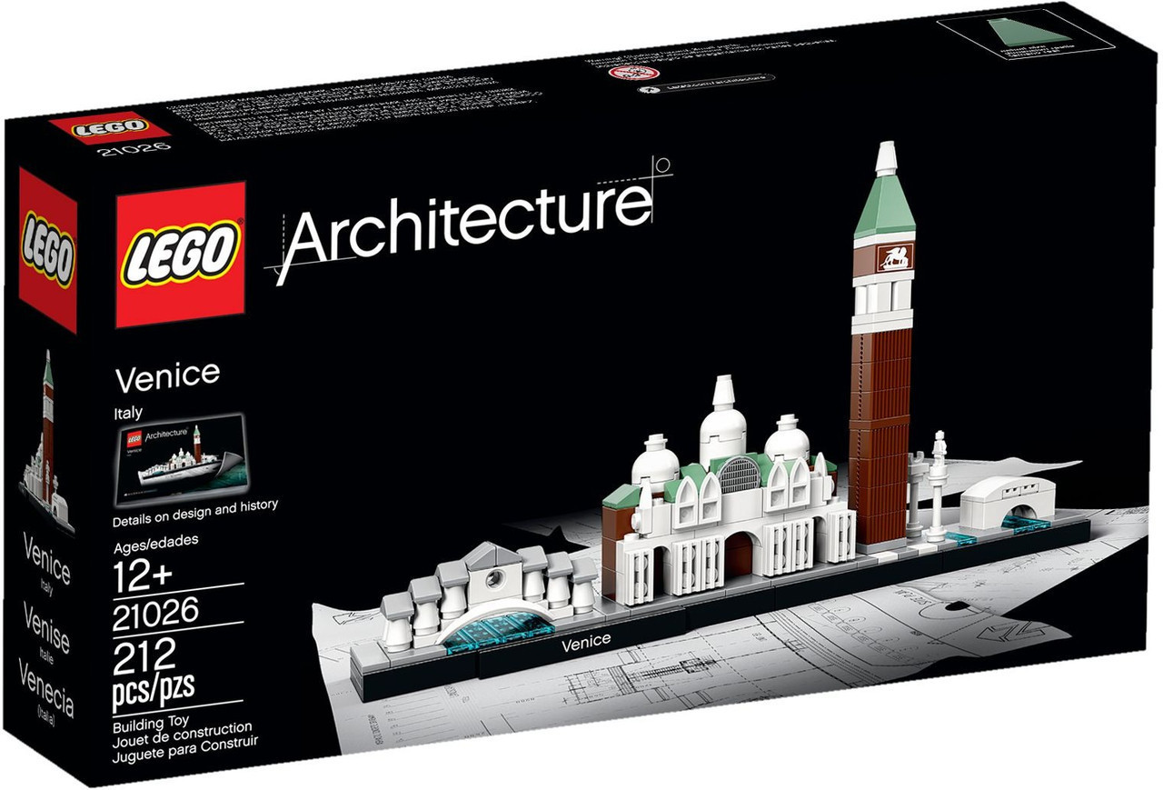 21026 Lego Architecture Венеция, Лего Архитектура