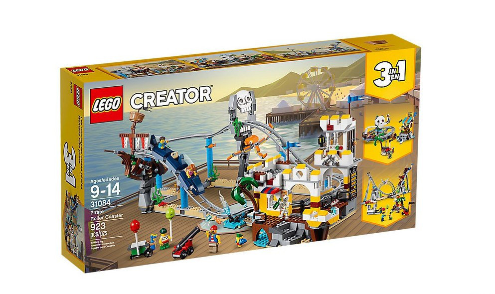 31084 Lego Creator Аттракцион Пиратские горки, Лего Креатор