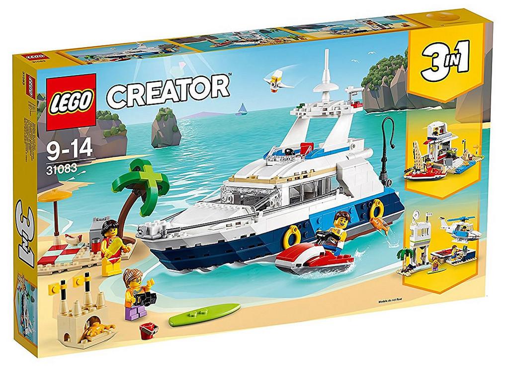 31083 Lego Creator Морские приключения, Лего Креатор