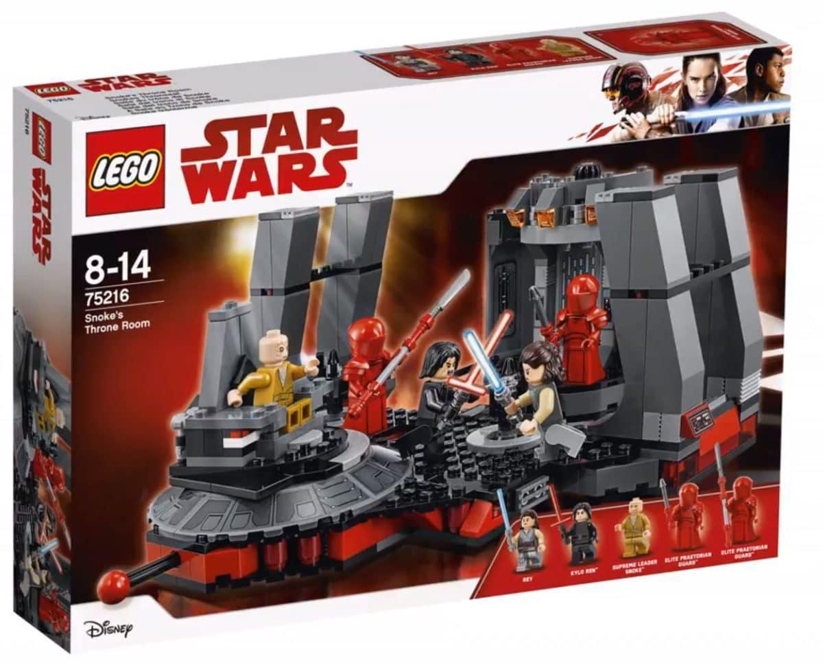 75216 Lego Star Wars Тронный зал Сноука, Лего Звездные войны