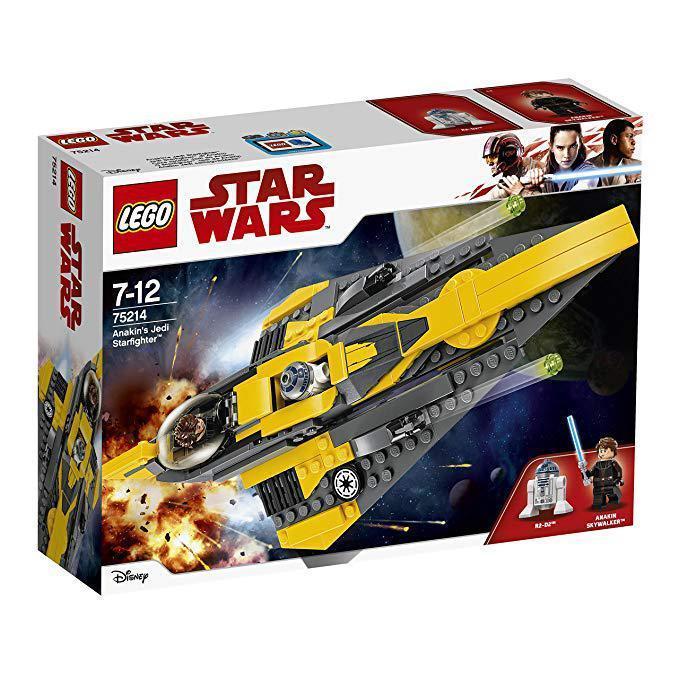 75214 Lego Star Wars Звёздный истребитель Энакина, Лего Звездные войны