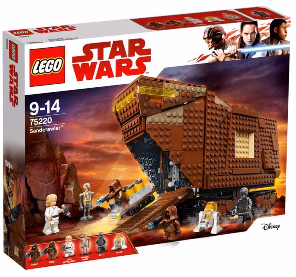 75220 Lego Star Wars Песчаный краулер, Лего Звездные войны