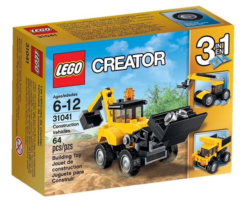 31041 Lego Creator Строительная техника, Лего Креатор