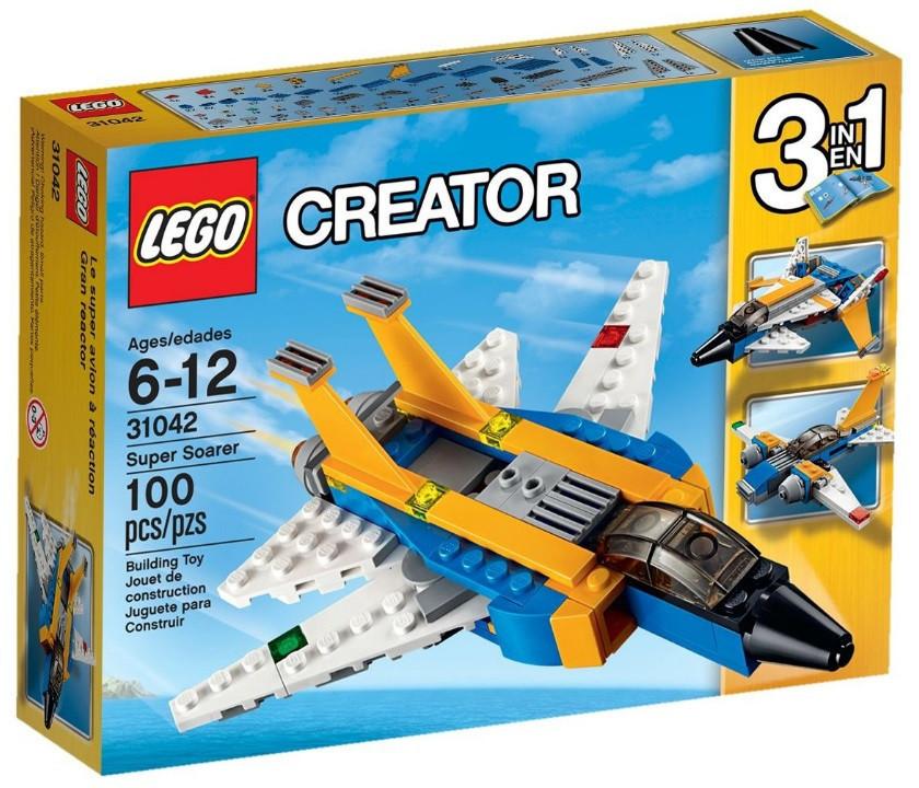 31042 Lego Creator Реактивный самолет, Лего Креатор