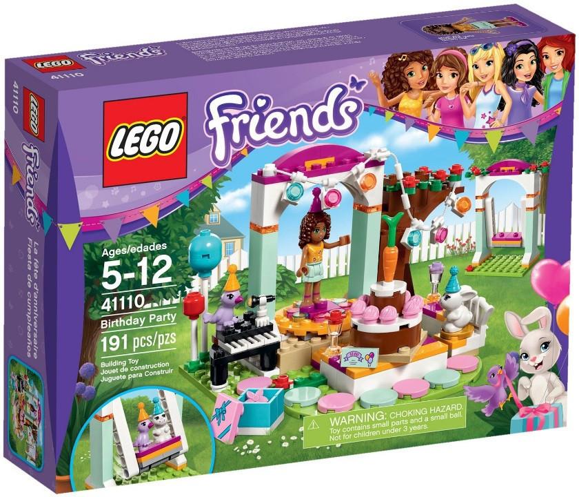 41110 Lego Friends День рождения, Лего Подружки