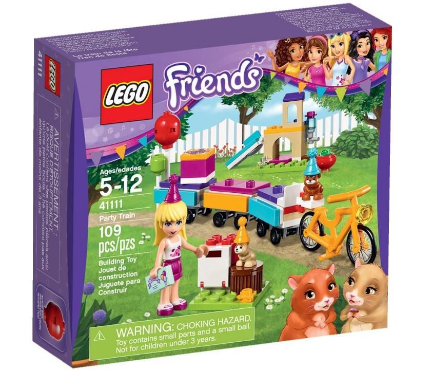 41111 Lego Friends День рождения: Велосипед, Лего Подружки