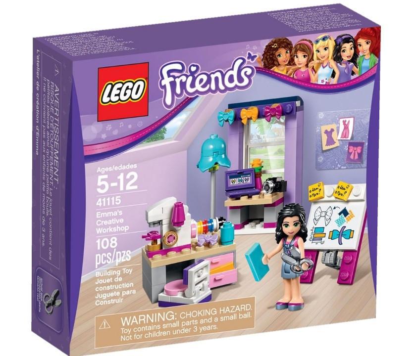 41115 Lego Friends Творческая мастерская Эммы, Лего Подружки