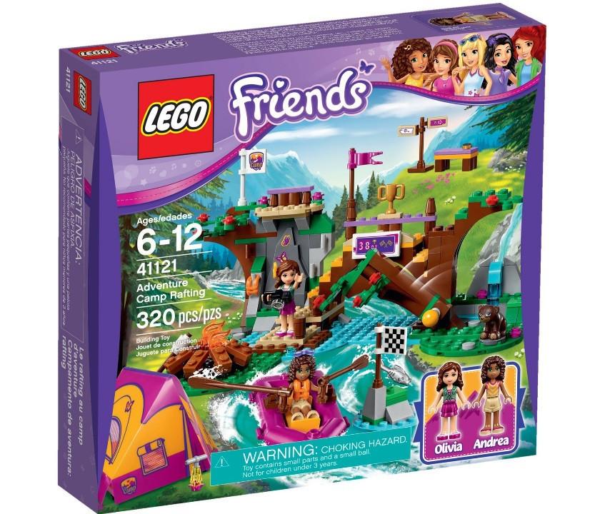 41121 Lego Friends Спортивный лагерь: Сплав по реке, Лего Подружки