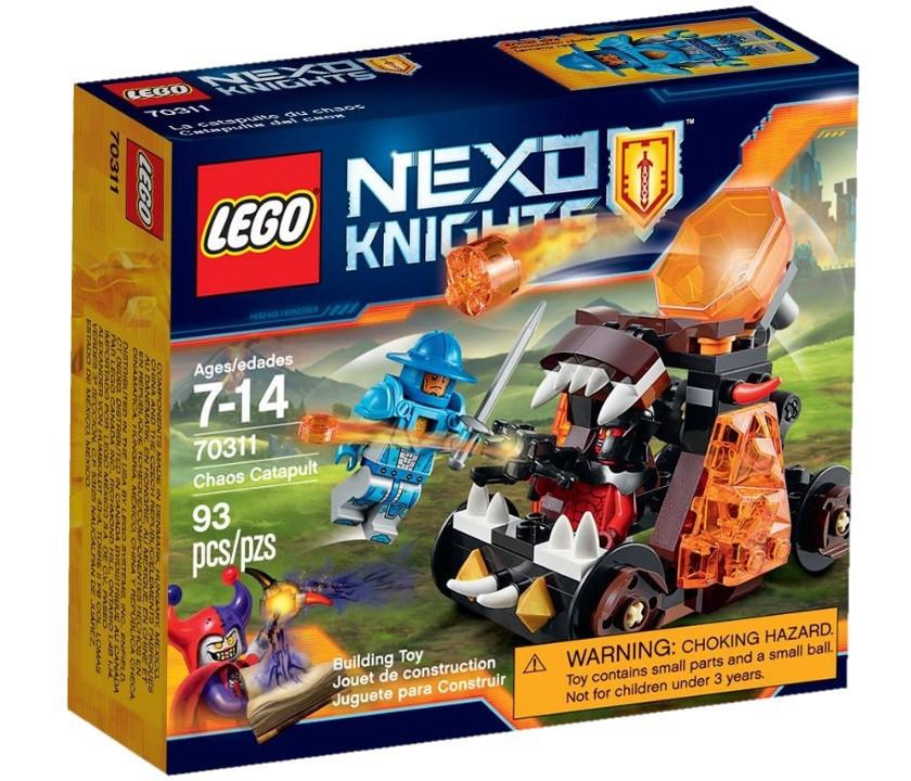 70311 Lego Nexo Knights Безумная катапульта, Лего Рыцари Нексо