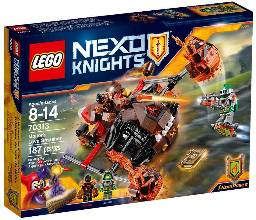 70313 Lego Nexo Knights Лавинный разрушитель Молтора, Лего Рыцари Нексо