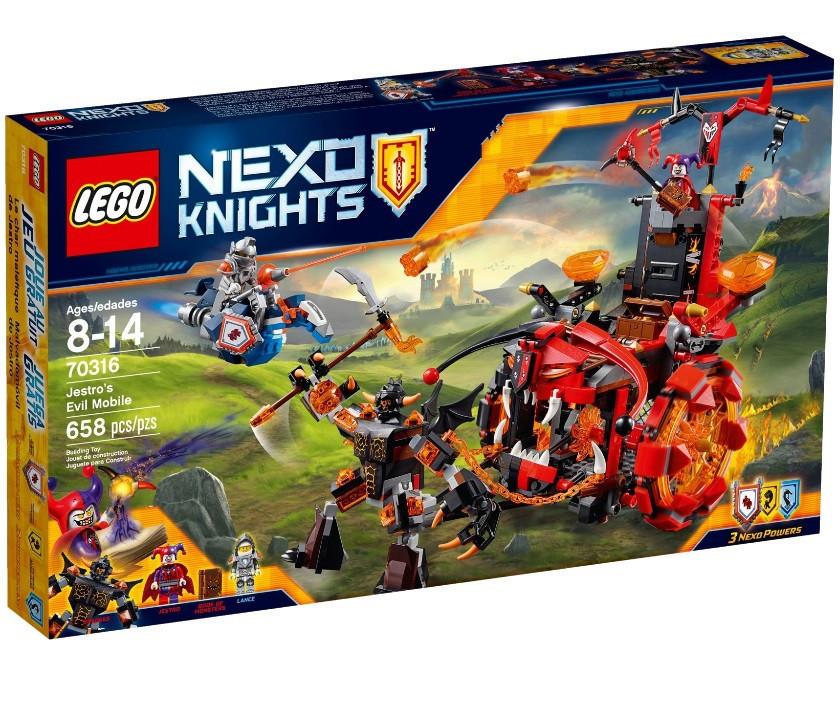70316 Lego Nexo Knights Джестро-мобиль, Лего Рыцари Нексо