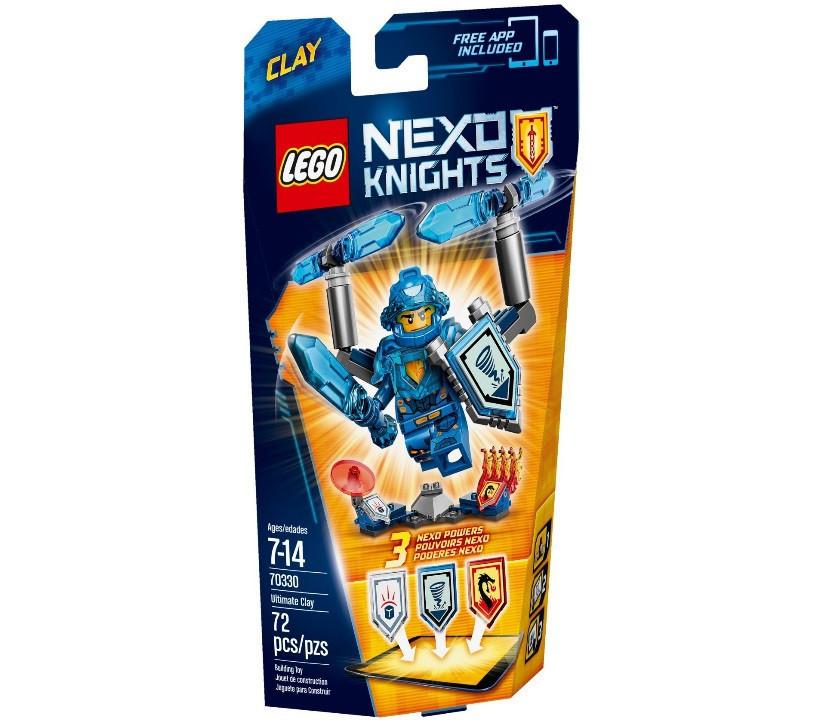70330 Lego Nexo Knights Клэй – Абсолютная сила, Лего Рыцари Нексо