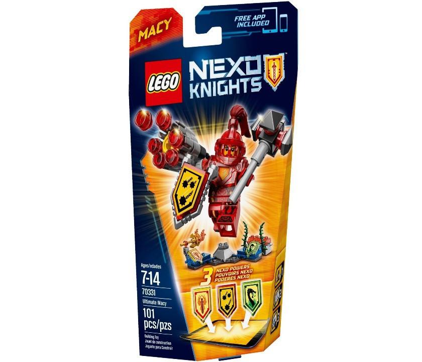 70331 Lego Nexo Knights Мэйси – Абсолютная сила, Лего Рыцари Нексо