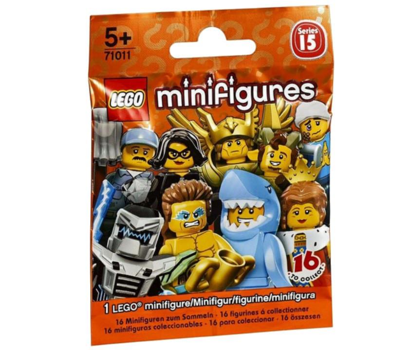 71011 Lego Минифигурка 15-й выпуск (неизвестная, 1 из 16 возможных)
